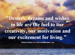 Maureen desires quote